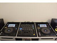 PIONEER XDJ1000 X2 & DJM 900 NEXUS (Like new) ( decks, dj, not cdj2000, )