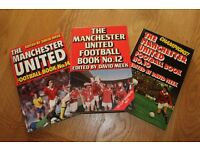 REDUCED PRICE MANCHESTER UNITED VINTAGE FOOTBALL BOOKS
