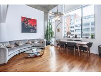 Beautiful warehouse conversion 2 bed, high ceilings, amazing spec