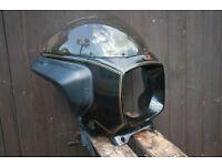 motorcycle nose fairing