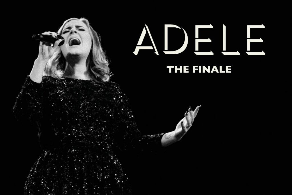 4x Adele pitch standing tickets, Wembley Stadium London, Thursday 29th June 2017