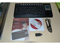 KeySonic Wireless Keyboard & TouchPad Mouse (Boxed)