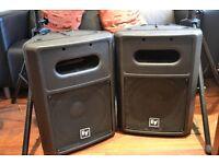 A Pair of EV Sb 121 Bass speakers