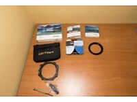 Lee Filters Foundation Holder Kit + Lee Big Stopper & Lee 77mm Wide Ring