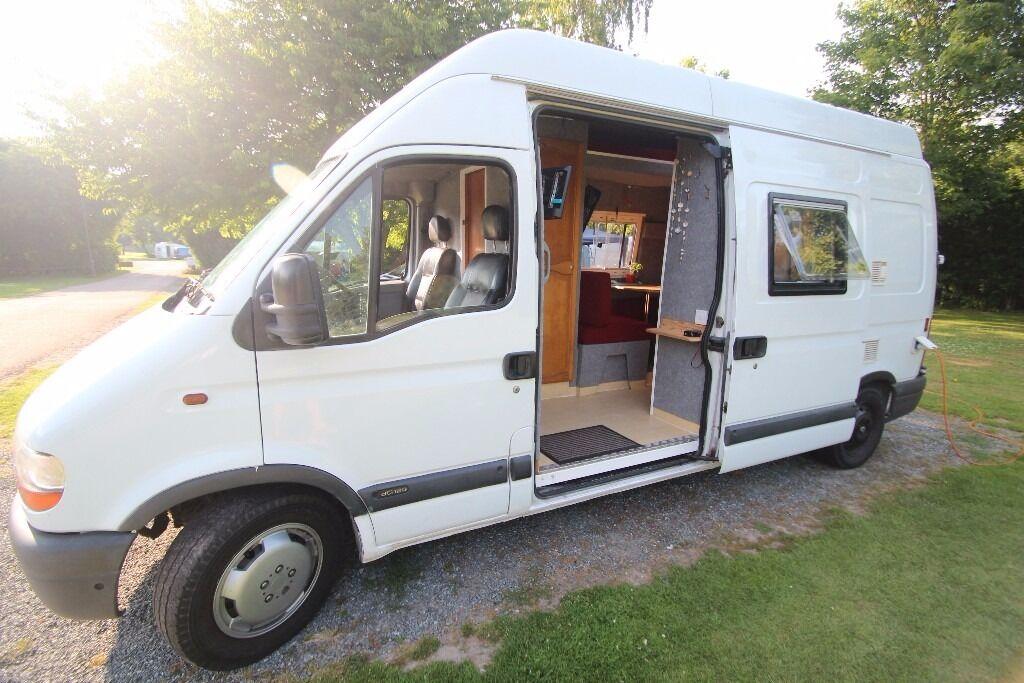 renault master campervan 2002 in colchester essex gumtree. Black Bedroom Furniture Sets. Home Design Ideas