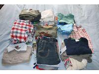 Large bundle of boys' clothes, 12-18 months