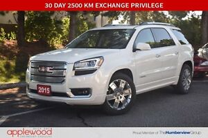 2015 GMC Acadia Denali, ONE OWNER, ACCIDENT FREE AND EQUIPPED WI