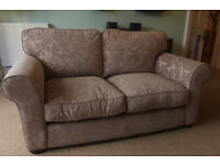 Elegant 2 seater sofa. Immaculate condition. Non-smoker, no pets. Well looked after