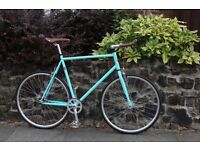 GOKU CYCLES Special Offer! Steel Frame Single speed road TRACK bike fixed gear racing bike e2a