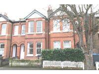 Spacious sunny 3 bedroom house & garden, quiet road, 10 mins walk New Malden BR, shops & schools
