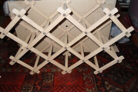 Extendable Wooden Wine Rack - Only £10