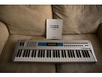 Alesis QS 6.2 vintage synth plus original manual