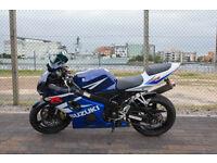 FOR SALE 2004 K4 Suzuki Gsx-r 600cc