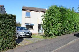 3/4 Double bed Detached house - Dalgety Bay, Gardens, Drive Way, DG, GCH near School - Hillside Av.