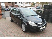 VAUXHALL ZAFIRA 1.9CDTi(120ps) Exclusive MPV 6 SPEED AUTO DIESEL 7 SEATER