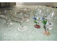 Vintage 1950's glassware