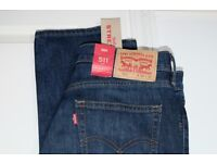 LEVI'S JEANS (slim)! NEW! (still with tag)