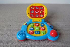 VTech Baby Baby's Laptop - Multi-Coloured (Mint Condition)