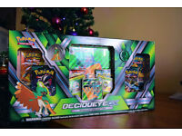 Pokemon Decidueye-GX Premium Collection (with 6 booster packs)