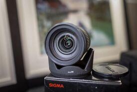 Sigma 18-50mm F2.8 Ex DC Macro Canon Fit