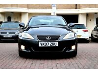 LEXUS IS250 SE AUTOMATIC 4 DOOR SALOON FSH HPI CLEAR 2 KEYS EXCELLENT CONDITION