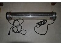 twin tube aircooled shade hydroponic /grow equipment