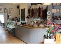 Full or part time shop assistant required for our Spanish deli