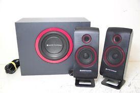 Altec Lansing VS2421 Computer Speakers 2.1 System