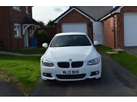 BMW 3 Series 320d 184BHP M Sport 2 Door Coupe White Full BMW Service History