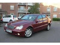 4DR MERCEDES C class ELEGANCE1.8 // AUTOMATIC//FULL MOT//LOW MILES//PX WELCOME