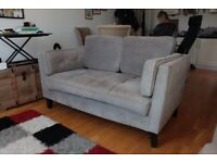 Luxury 2 seater sofa. Almost new.