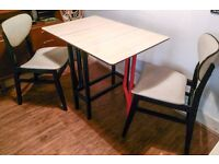 Retro Vintage Dining/Kitchen Table and Chairs