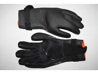 GUL 4mm Flexor Wetsuit Neoprene Diving Gloves Proffesional Black Grip velcro L