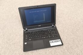 ACER Aspire ES 15.6 Inch AMD E1 4GB 1TB Laptop - Black, MINT CONDITION