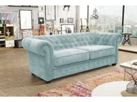 50% REDUCTION* IMPERIAL CHESTERFIELD SOFAS: CORNERS, 3+2 SETS, ARM CHAIRS, SOFA BEDS**
