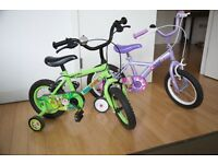 Kids bikes girls boys unisex