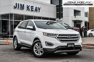 2016 Ford Edge SEL AWD 3.5 V6 ENGINE W/ LEATHER, REMOTE STARTER,