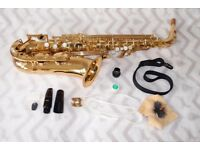 Yamaha YAS-275 JAPAN Alto Saxophone EXCELLENT condition, cased with accessories.