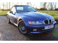 1999 T BMW Z3 1.9 CONVERTIBLE ROADSTER IMMACULATE LOW MILEAGE RUST FREE EXAMPLE