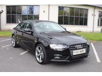 2012 Audi A4 2.0 TDI SE **Black Edition Styling** Stunning Condition 1 Owner FSH Only £9250