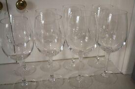 4x Red Wine Glasses. 4x White Wine Glasses. Tesco Finest Crystalline