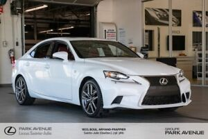 2015 Lexus IS * F SPORT 2 * AWD * NAV * CUIR ROUGE * CAMERA *