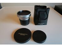 Canon 0.45X Wide angle lens with Macro and LA-DC52E Adapter for Powershot S1IS