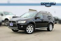 2011 Mitsubishi Outlander GT Leather interior - Power driver sea