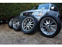 "6x139.7 Alloys 22"" Chrome alloy wheels + tyres Mitsubishi Shogun, Nissan, Toyota, Ford, Hummer H2"