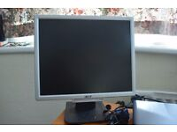 ACER VGA monitors for sale (3 available), 15£ each
