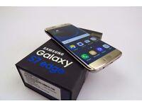 Brand new Galaxy S7 edge gold Platinum