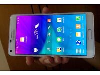 Samsung Note 4 unlocked to all networks for sale