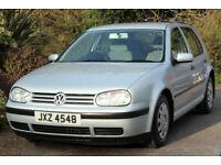*Beautiful*VW Golf Automatic 1.6 SE 5Door, FSH, Met. Silver