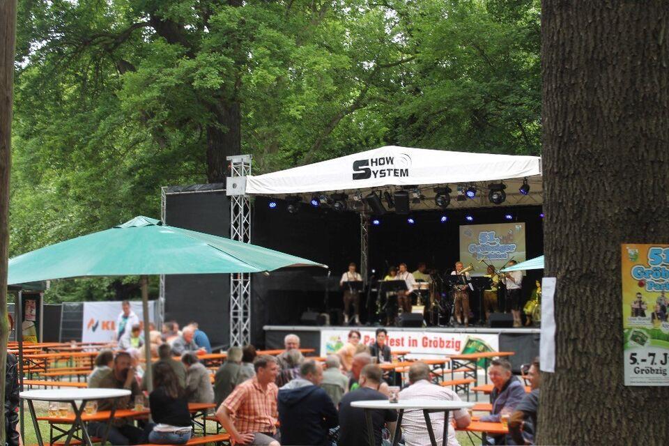 Open-Air Bühne / Veranstaltungsbühne / Bühnendach / mieten in Sachsen-Anhalt - Gröningen